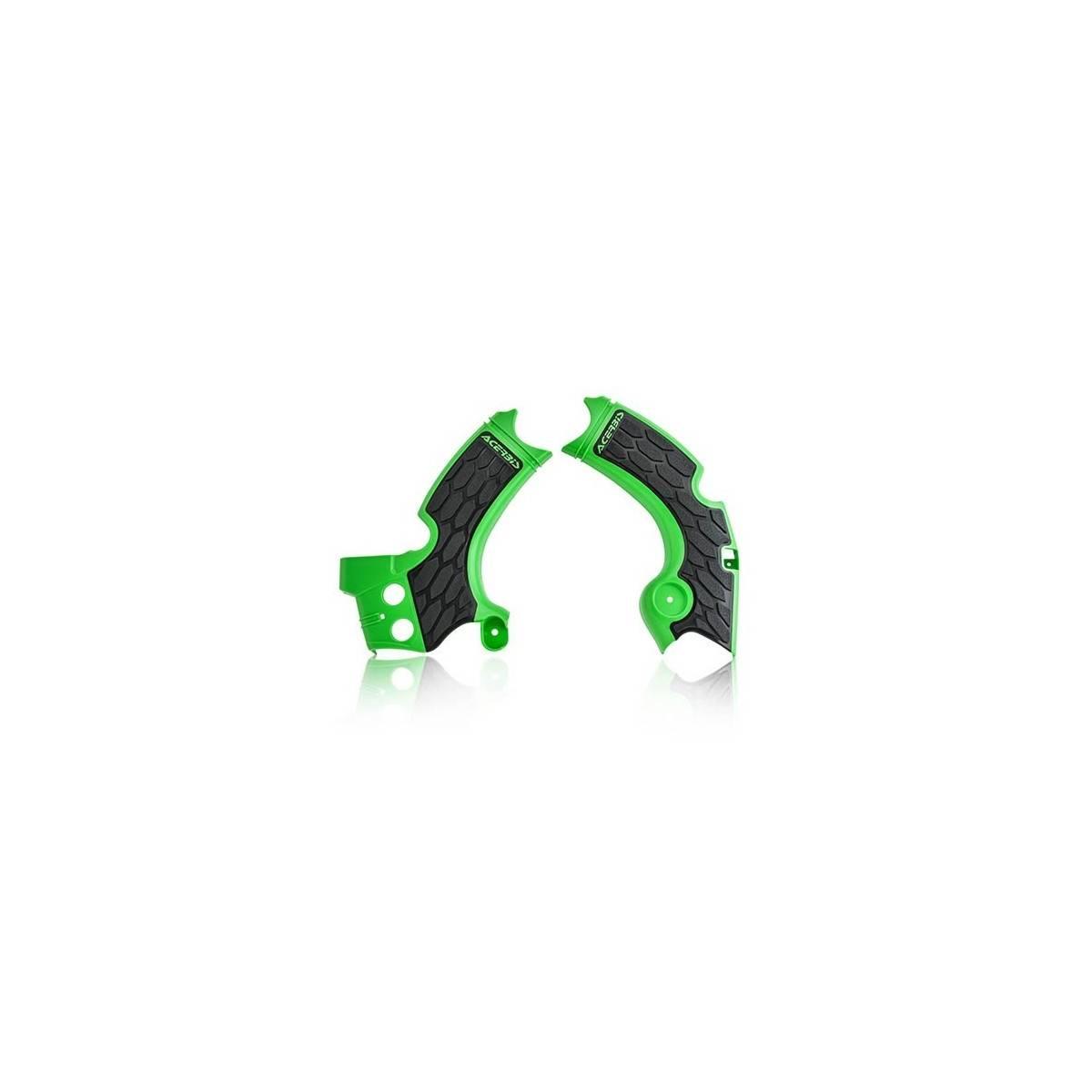 0022574-377 - Cubrechasis Acerbis Kxf250 17 18 Verde Negro