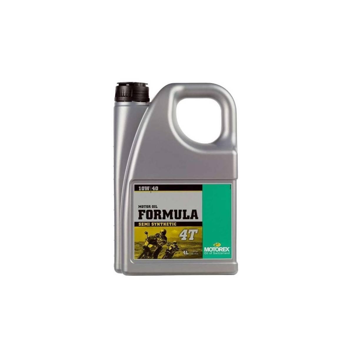 MT055I004T - Motorex Formula 10W40 4 Tiempos 4 Litros