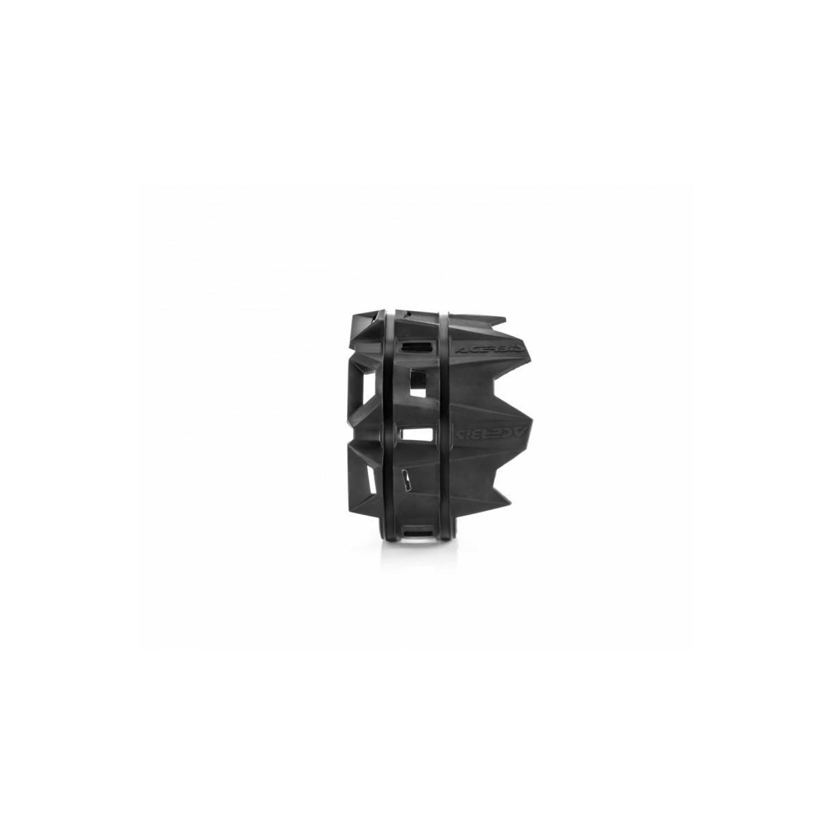 0022754-NE - Protector Sileciador 4 Tiempos Acerbis Negro