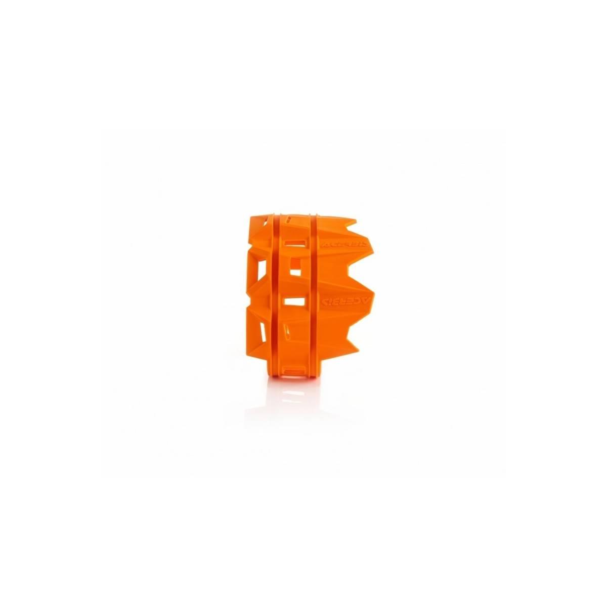 0022754-NR - Protector Silenciador 4 Tiempos Acerbis Naranja