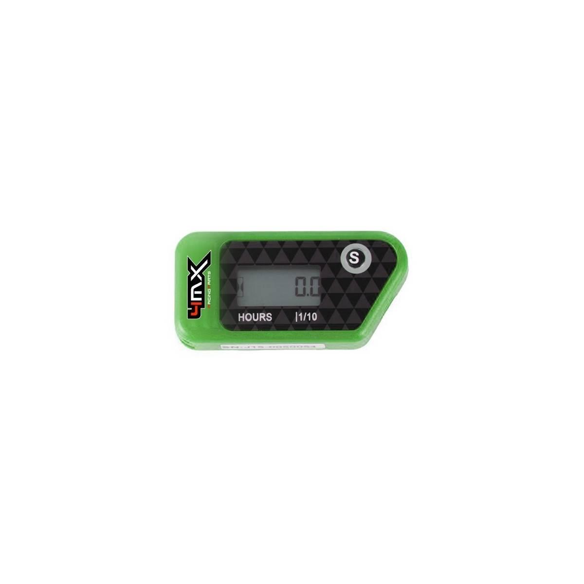 4MXWHM-VE - Reloj Cuenta Horas 4Mx Vibracion Verde