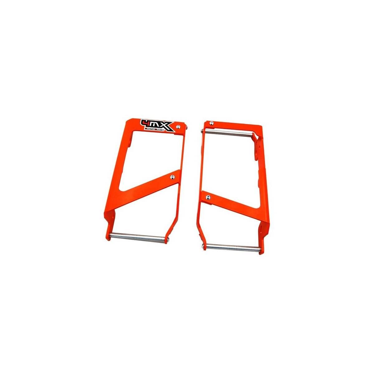 4MX.RGOR - Protector Radiador 4Mx Ktm 07 15 Naranja