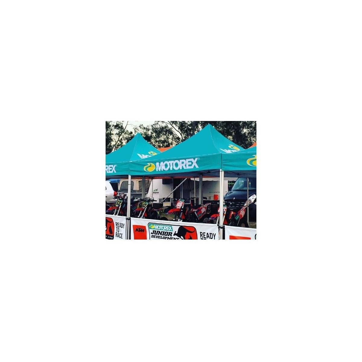 MTPU900001 - Carpa Motorex 3X3 + Paredes