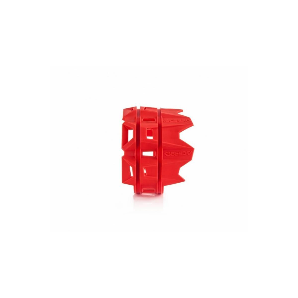 0022754-RO - Protector Sileciador 4 Tiempos Acerbis Rojo