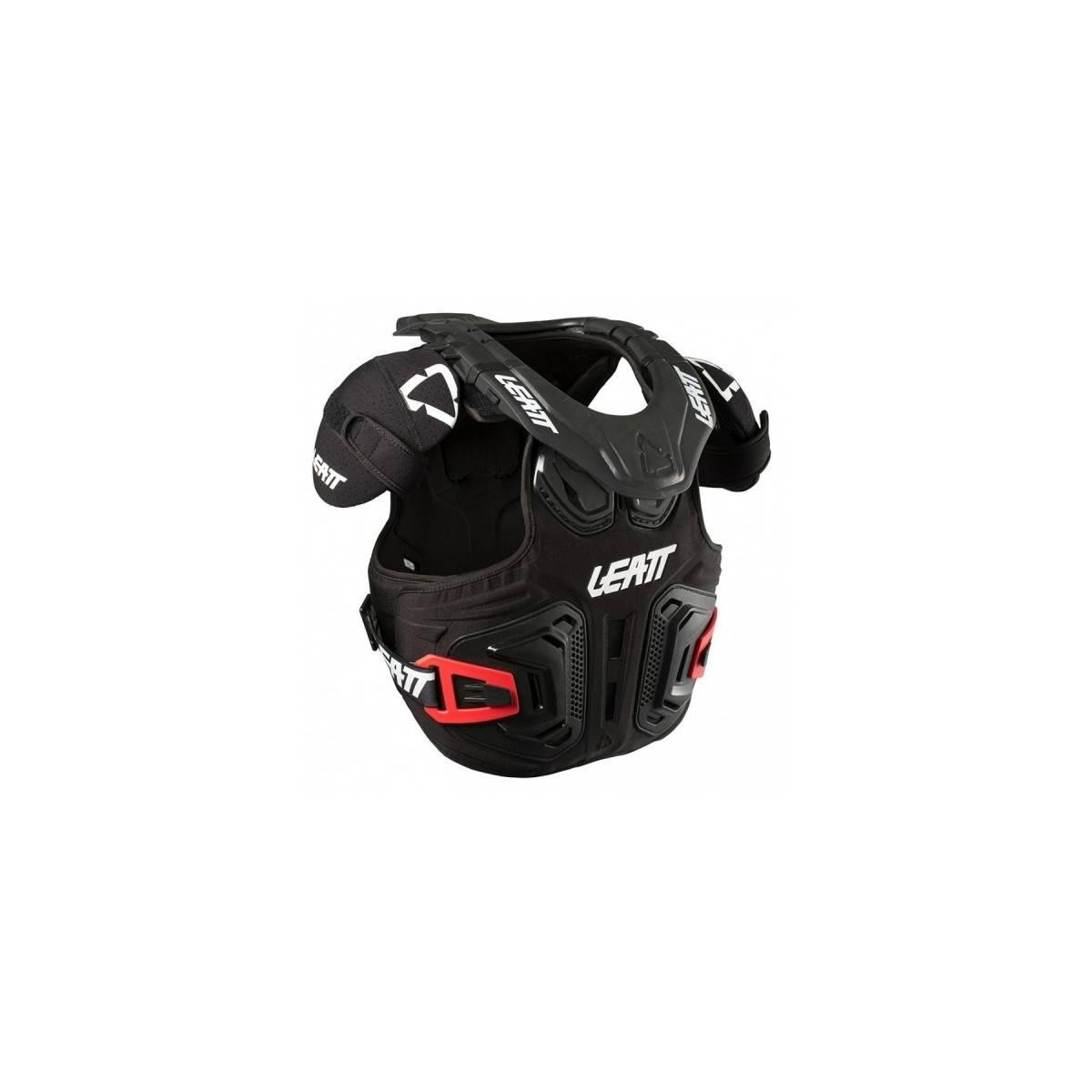 LB101801000 - Peto Y Collarin Fusion 2.0 Junior Leatt Brace Negro