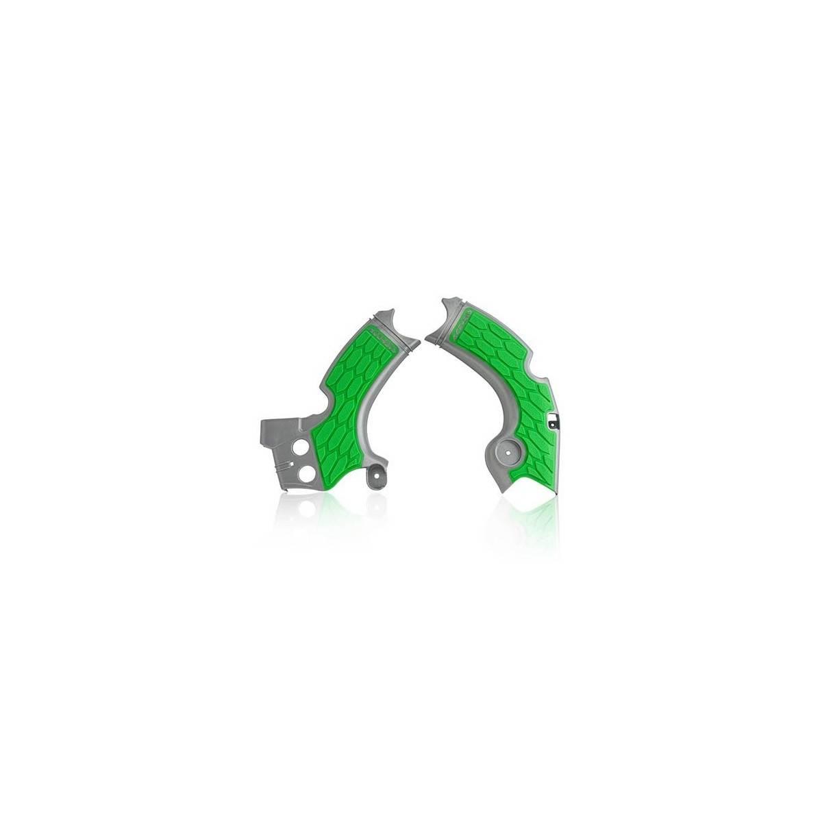 0022574-227 - Cubrechasis Acerbis Kxf250 17 18 Plata Verde