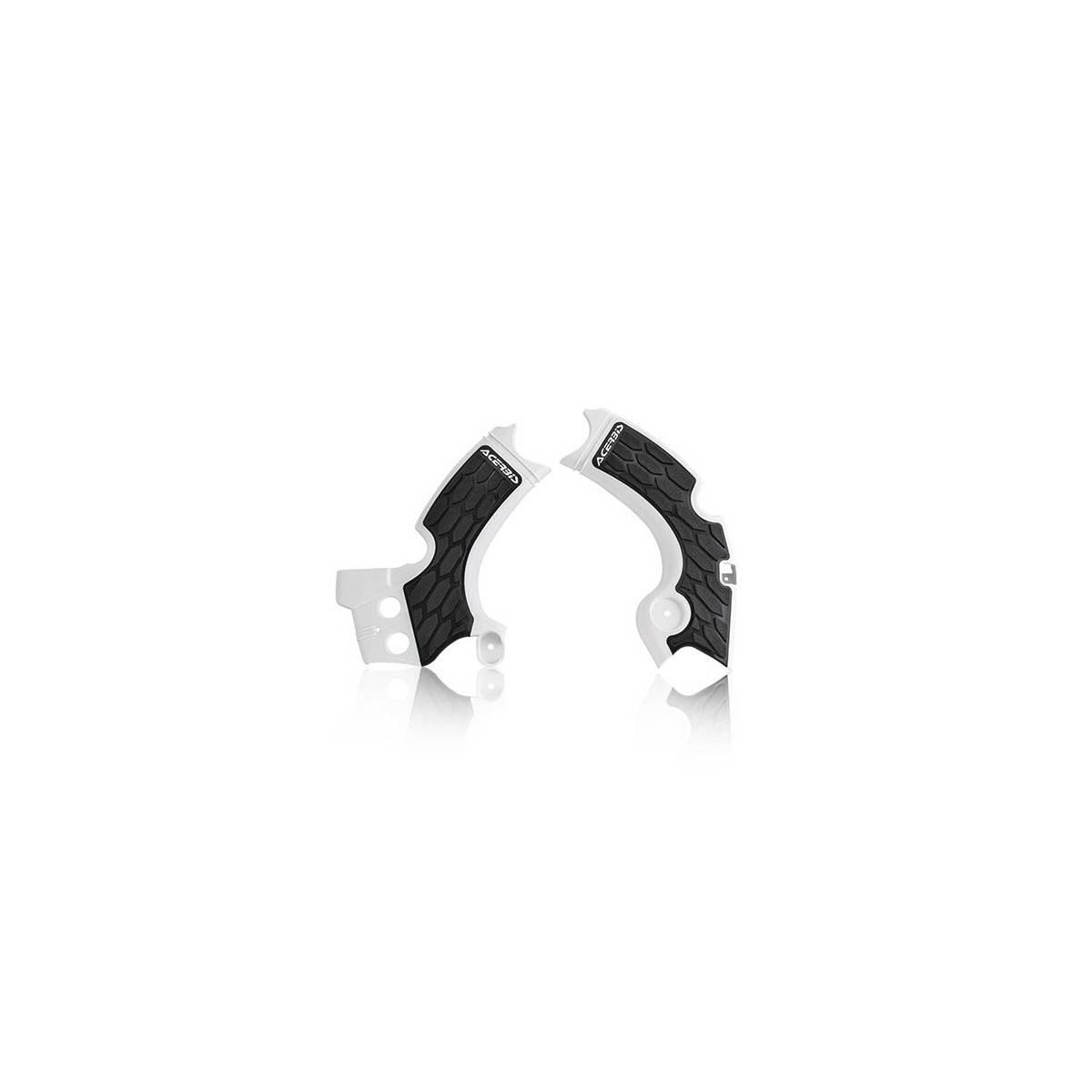 0022574-237 - Cubrechasis Acerbis Kxf250 17 18 Blanco Negro