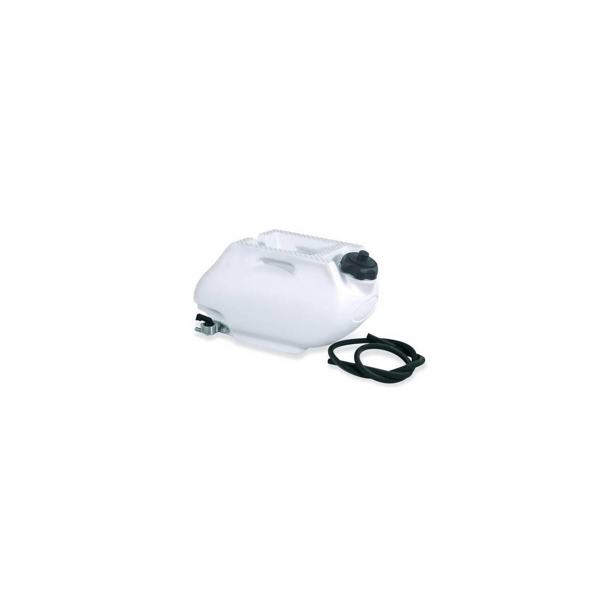 0001609-030 - Tanque Combustible Trasero Acerbis 6 Litros Blanco