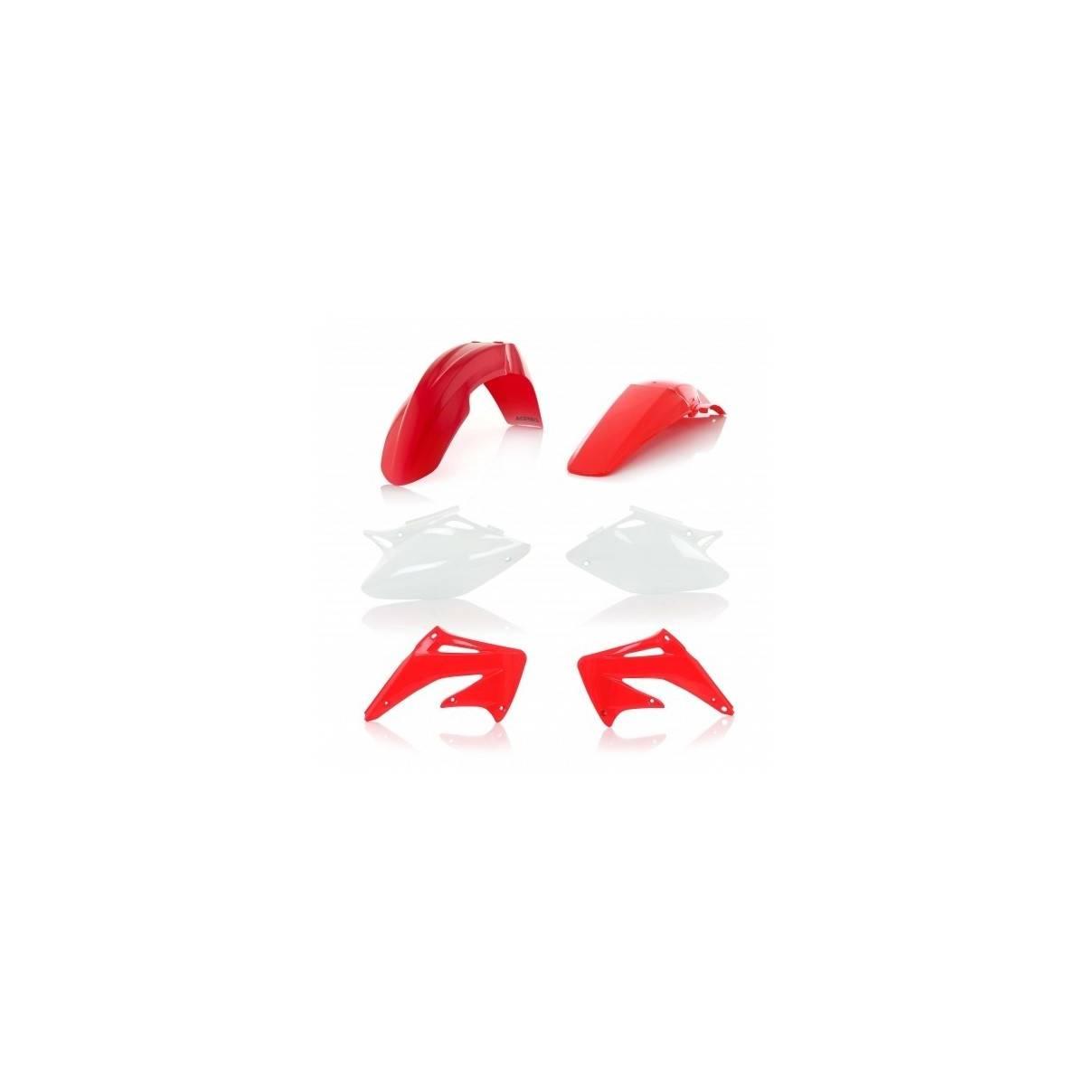 0008098-553 - Kit Plasticos Acerbis Crf250X 04 18 Origen