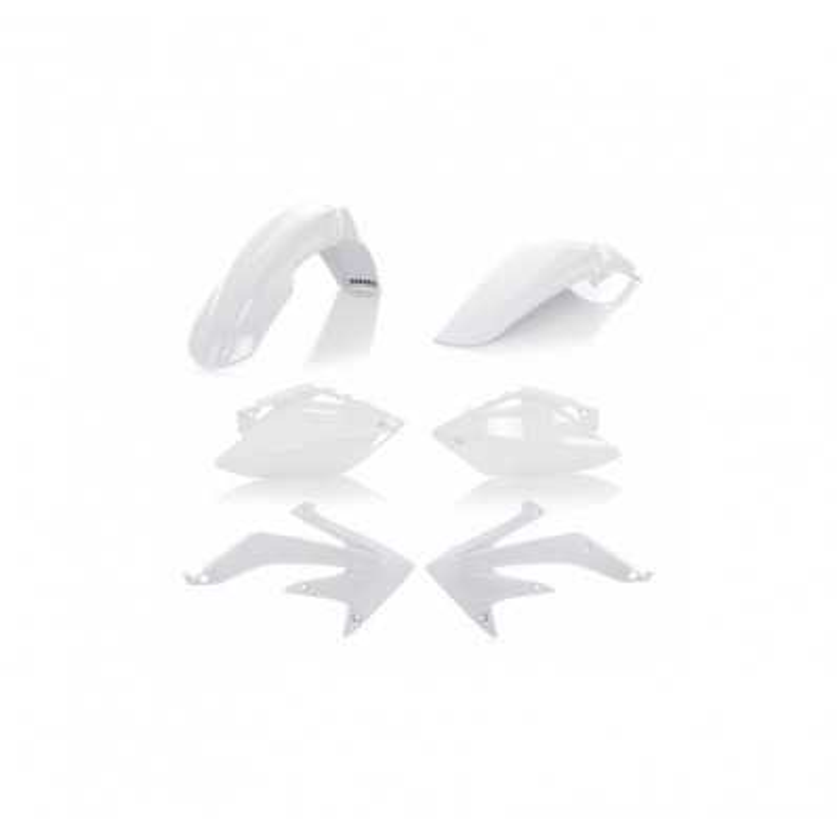 0010295-030 - Kit Plasticos Acerbis Crf450 07 08 Blanco