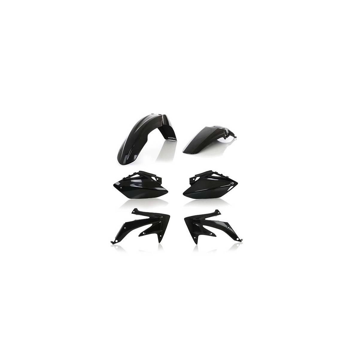 0010295-090 - Kit Plasticos Acerbis Crf450 07 08 Negro