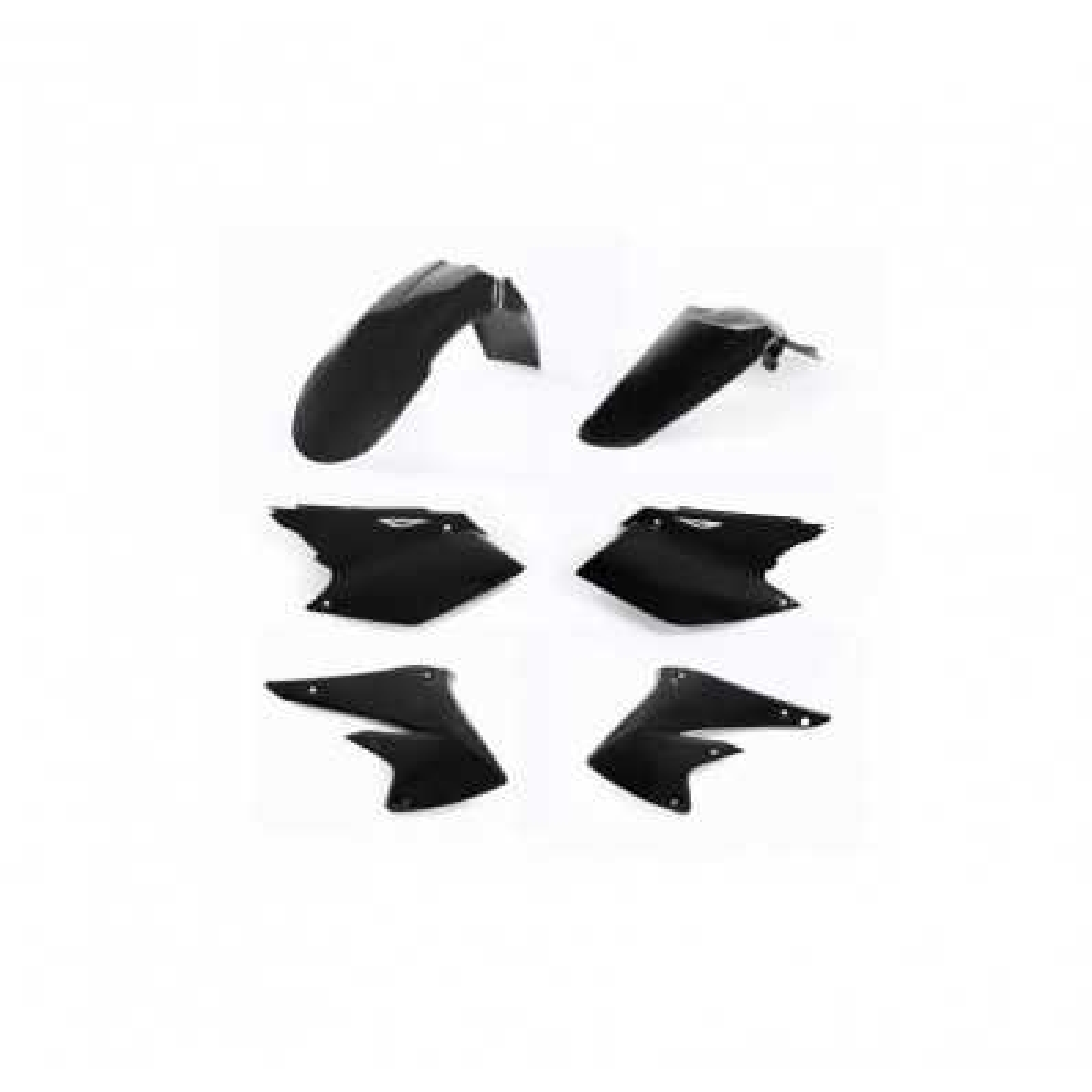 0011647-090 - Kit Plasticos Rmz 450 08 17 Negro