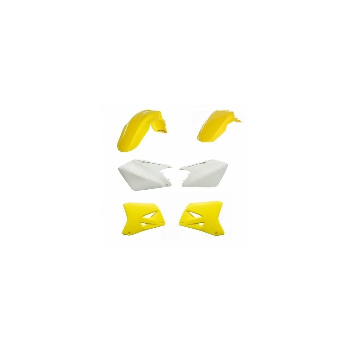 0013776-060 - Kit Plasticos Rmz 250 10 17 Amarillo