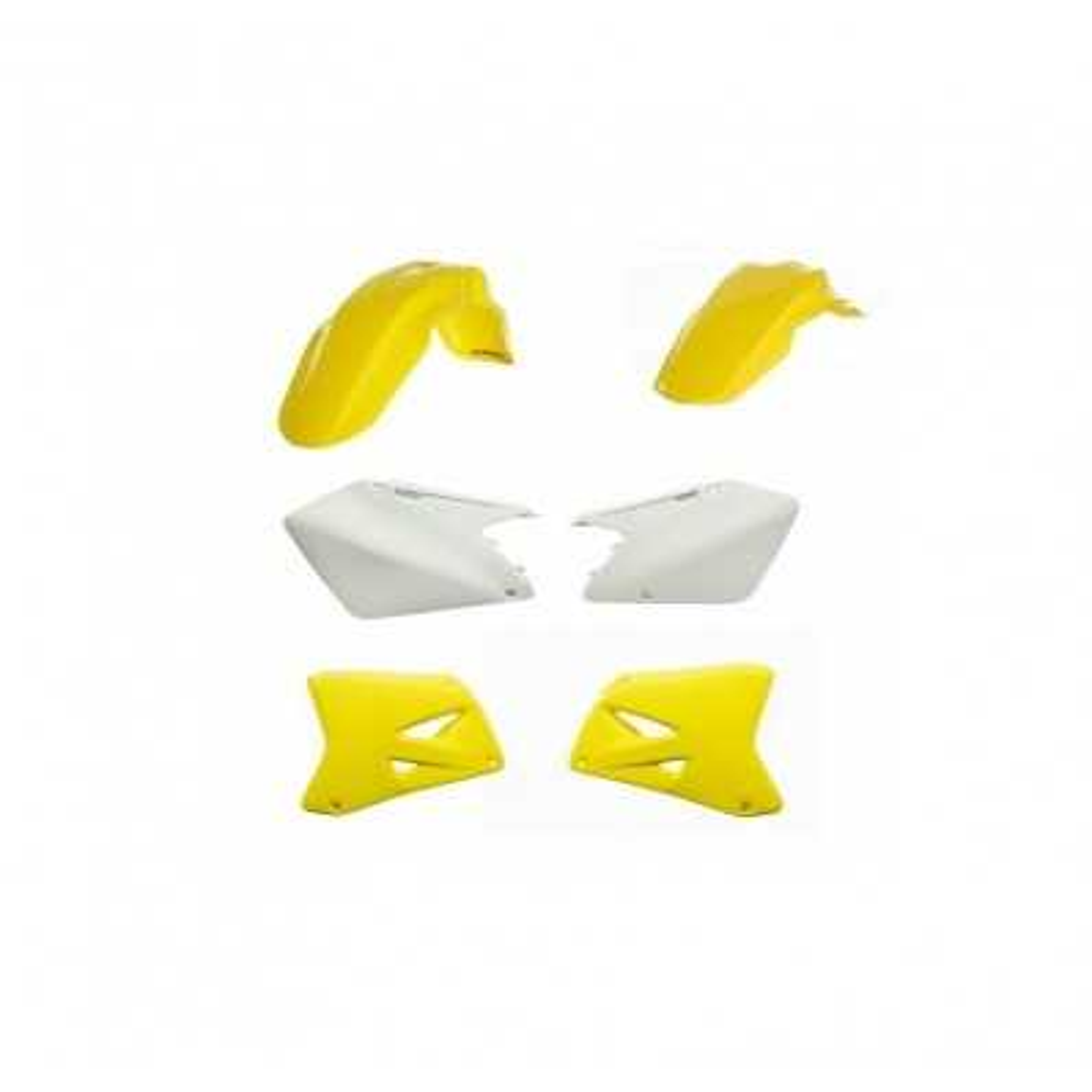 0013776-061 - Kit Plasticos Rmz 250 10 17 Amarillo Fluor