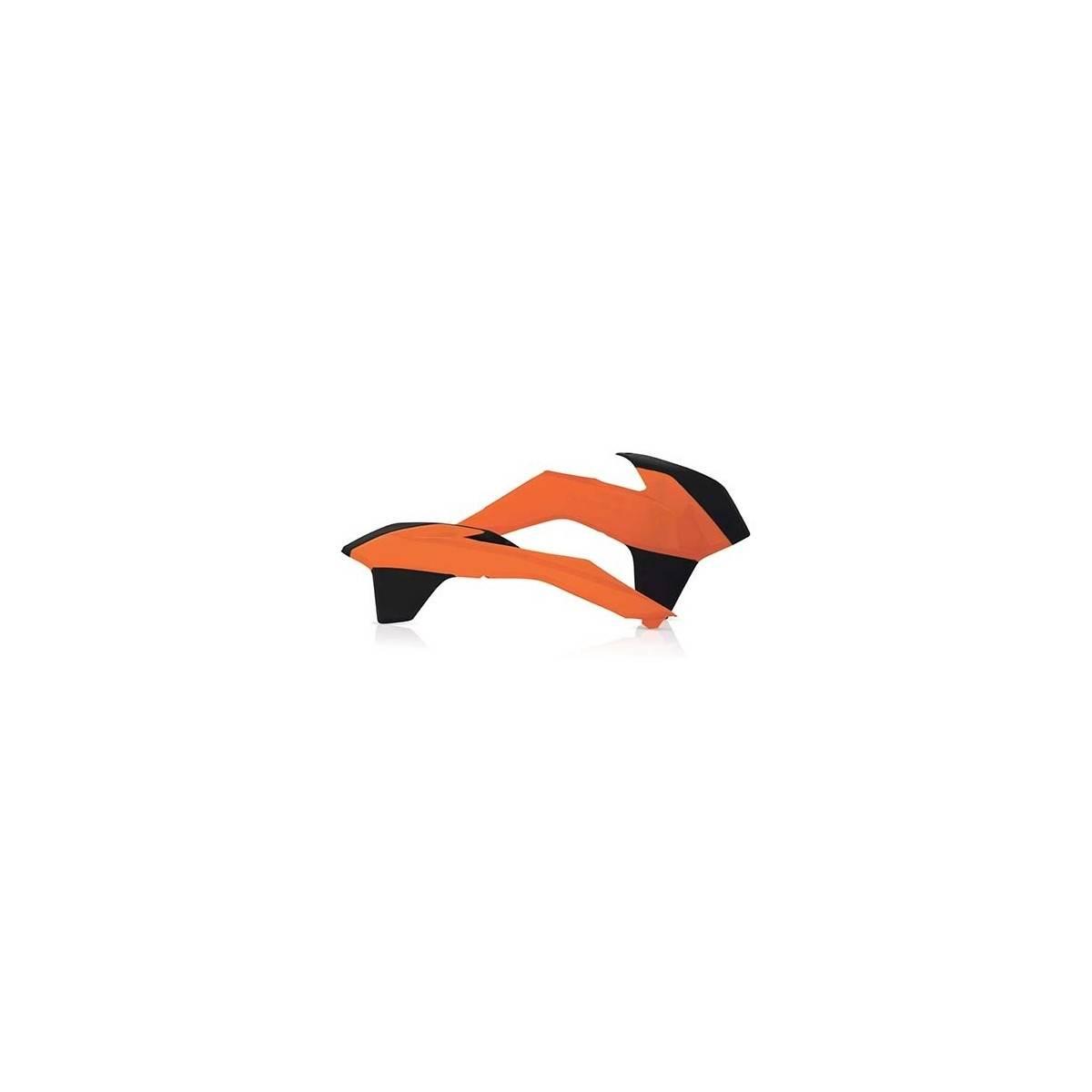 0016871-016 - Tapa Radiador Ktm 14 16 Naranja Negro