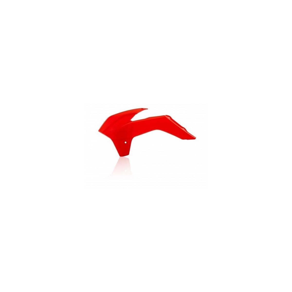 0016890-110 - Tapa Radiador Crf 250R 14 17 Crf450R 13 16´ Cre 450F 13 17 Rojo