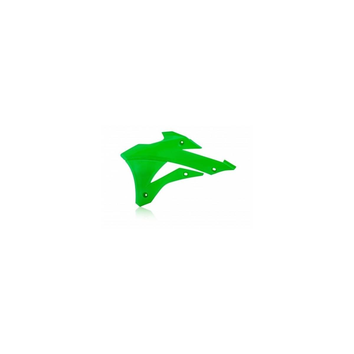 0017242-131 - Tapa Radiador Kx85 100 14 18 Blanco Verde