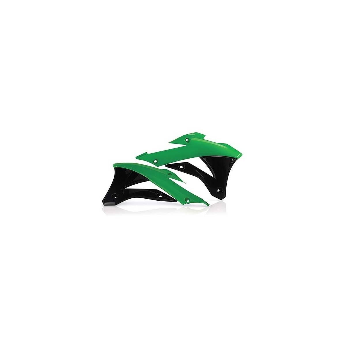 0017242-377 - Tapa Radiador Kx85 100 14 18 Verde Negro