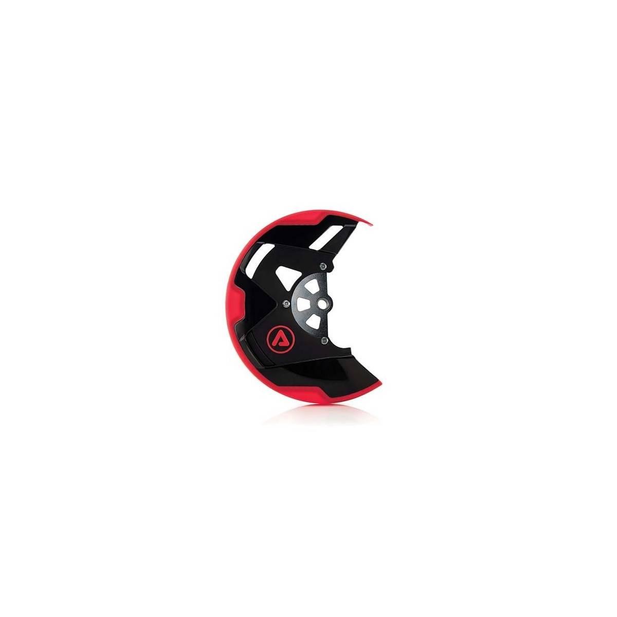 0021647-323 - Protector Disco Delantero Honda Xr400 07 16 Negro Rojo