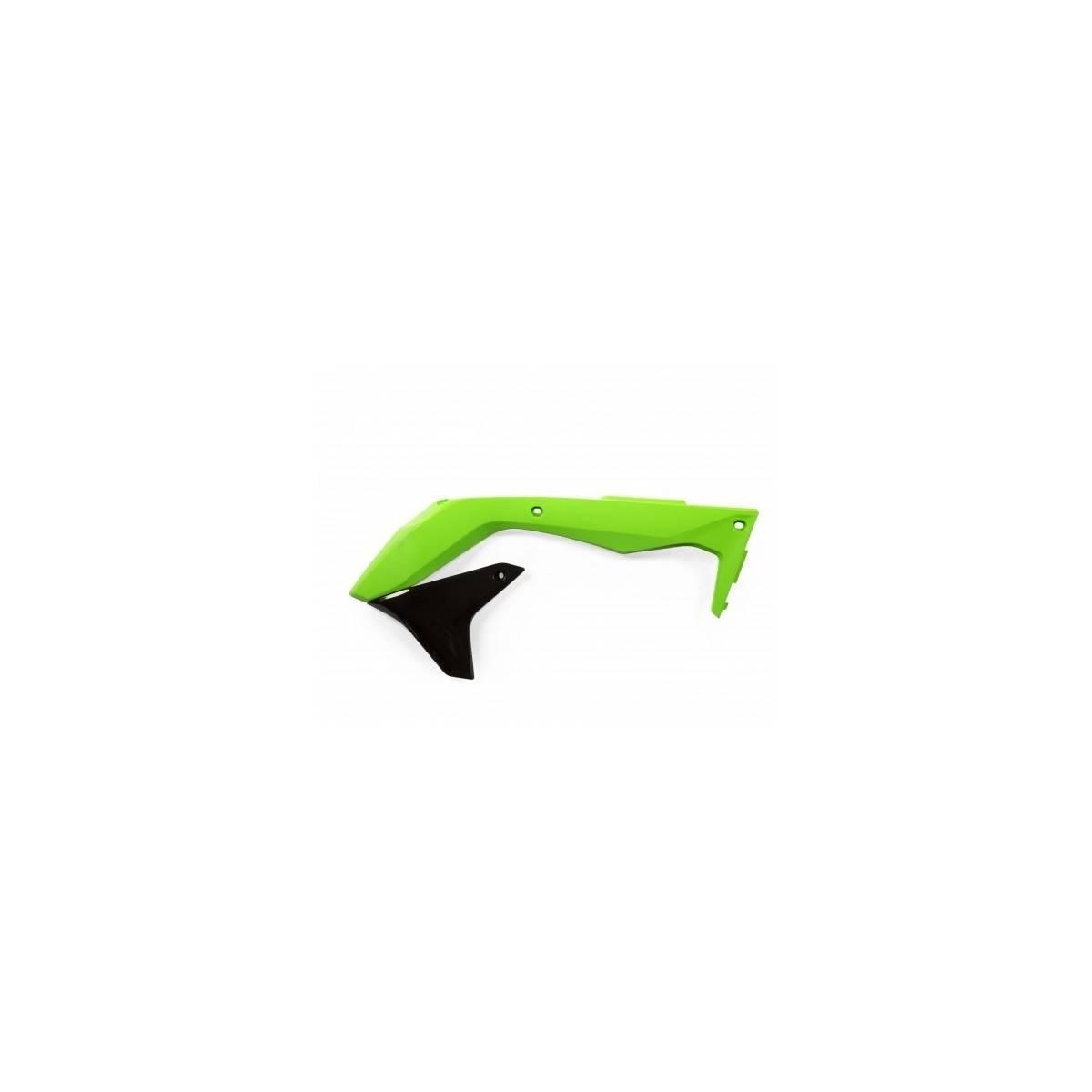0021837-377 - Tapa Radiador Kx-F 450 16 18 Verde Negro