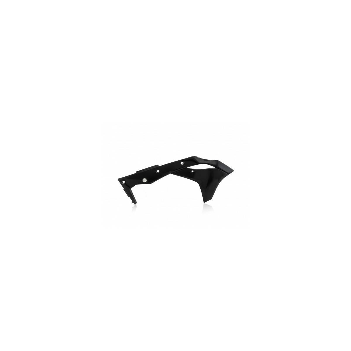0022376-090 - Tapa Radiador Kx-F 250 17 18 Negro
