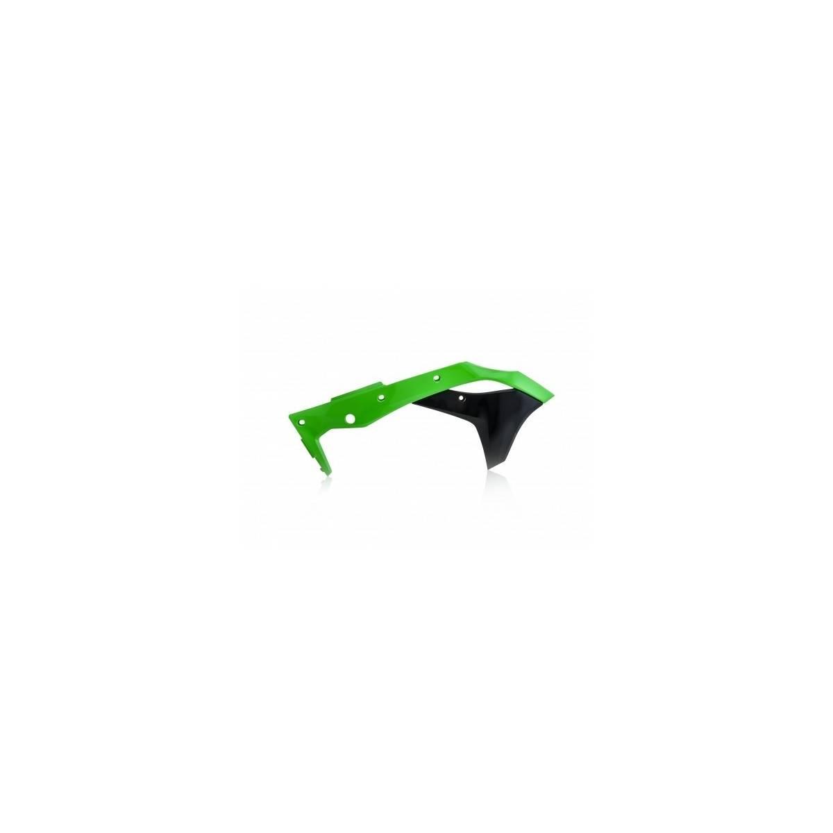 0022376-377 - Tapa Radiador Kx-F 250 17 18 Verde Negro