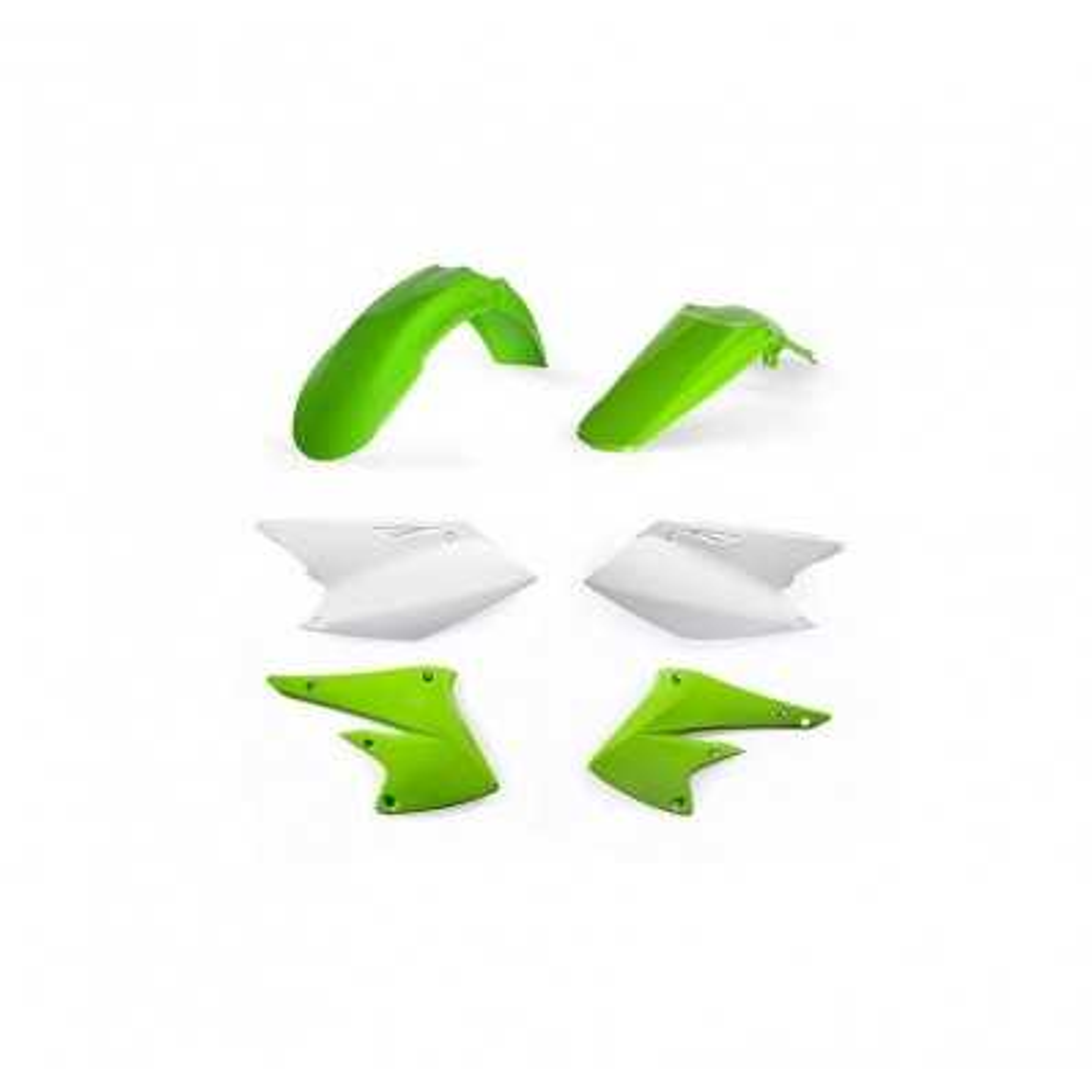 0022377-131 - Kit Plasticos Kxf 250 17 Blanco Verde