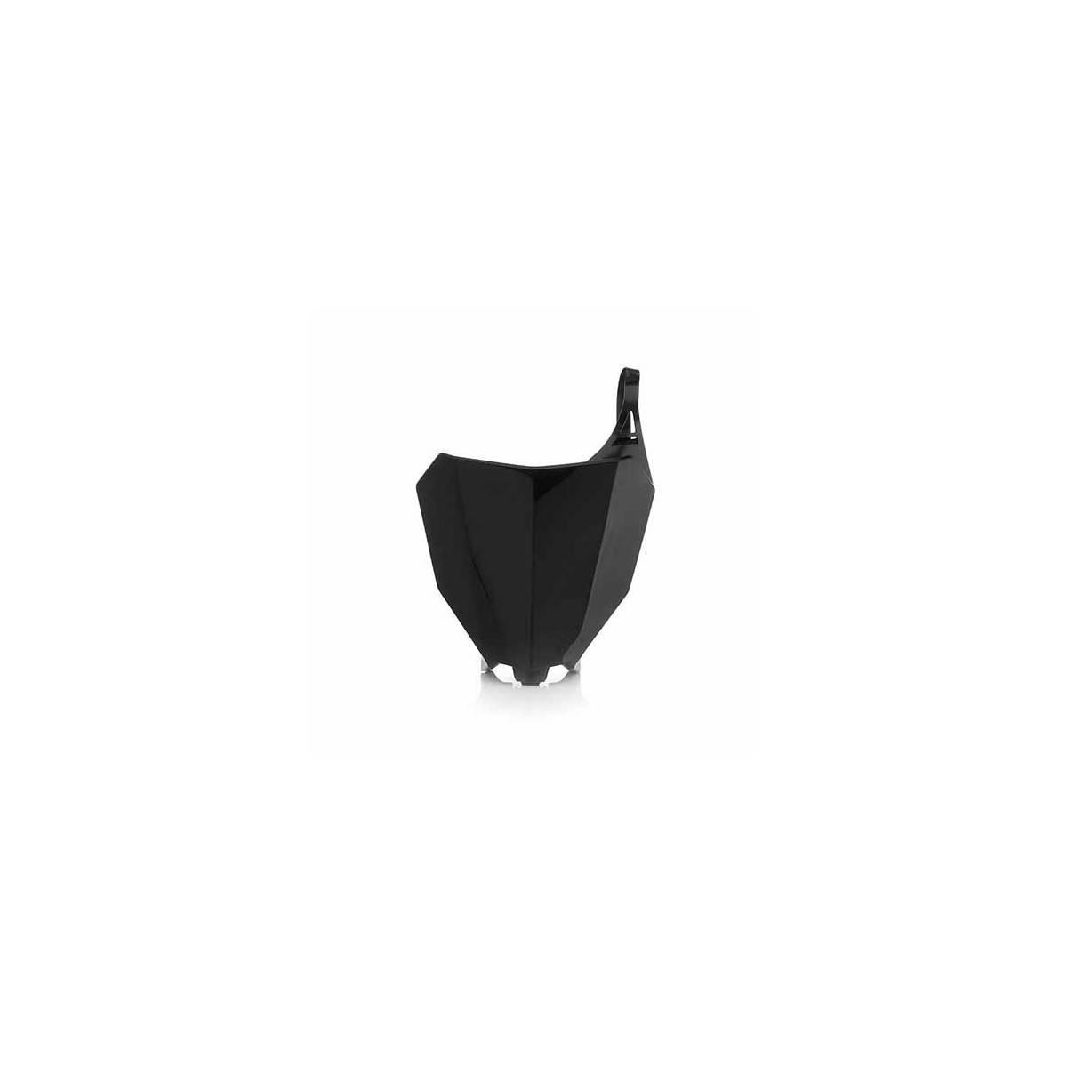 0022380-090 - Porta Numeros Crf 250R 18 Crf 450 Rx 17 18 Negro