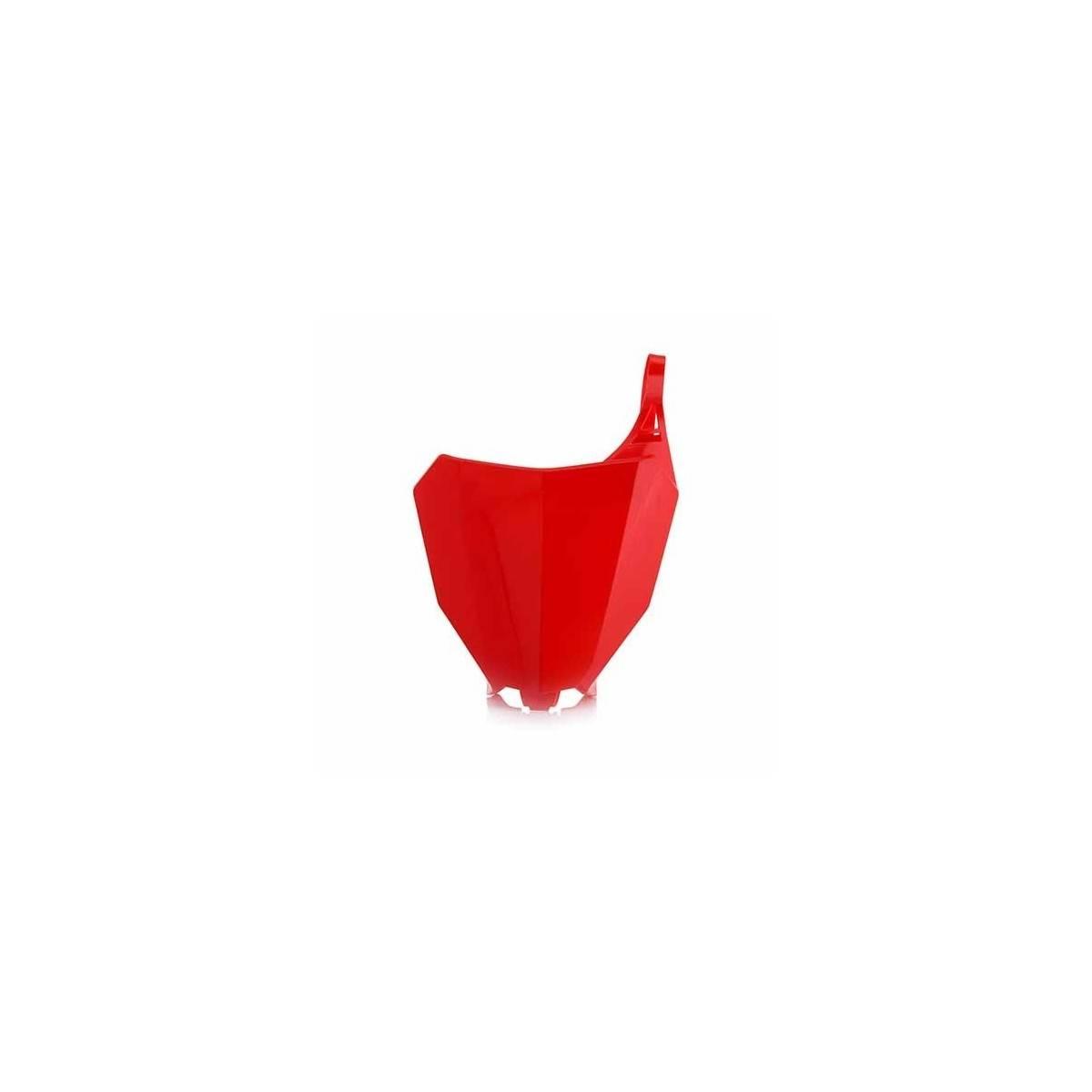 0022380-110 - Porta Numeros Crf 250R 18 Crf 450 Rx 17 18 Rojo
