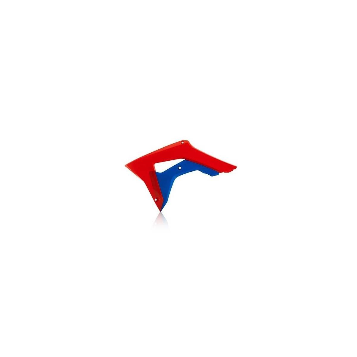 0022381-344 - Tapa Radiador Honda Crf 250R 18 Crf 450R 18.. Rojo Azul