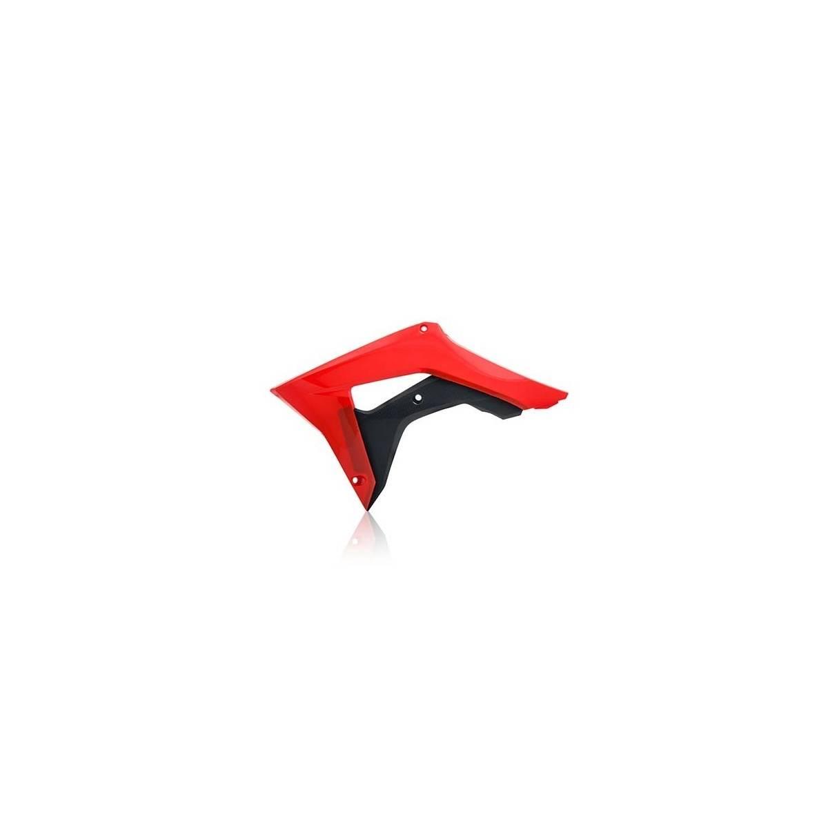 0022381-349 - Tapa Radiador Honda Crf 250R 18 Crf 450R 18.. Rojo Negro