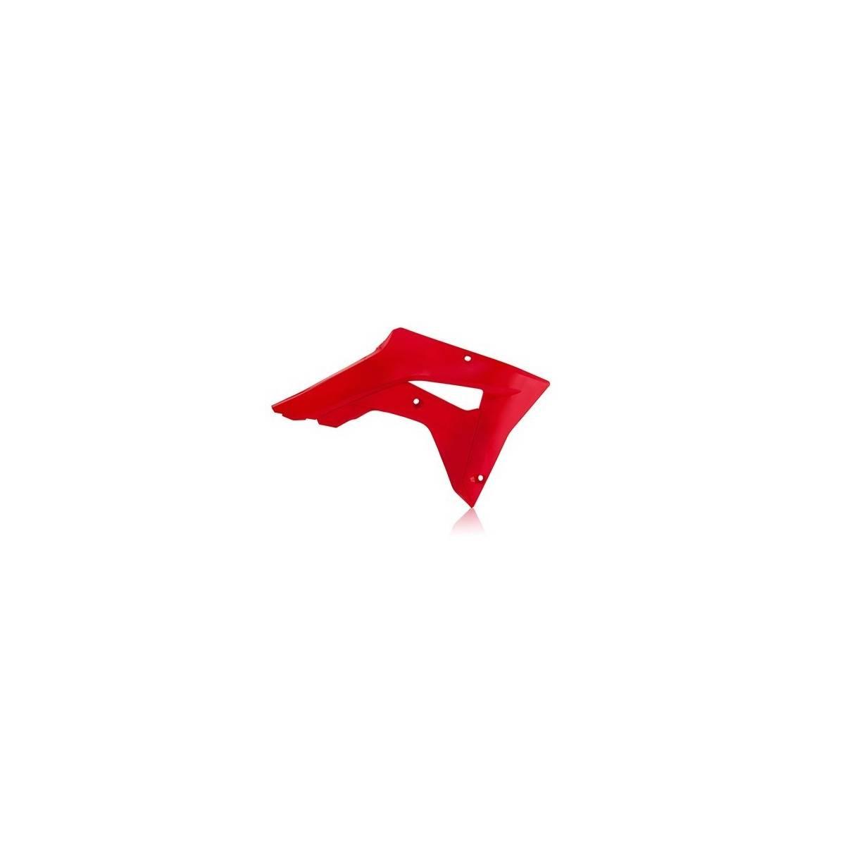 0022529-110 - Tapa Radiador Acerbis Honda Crf450Rx 17 18 Rojo