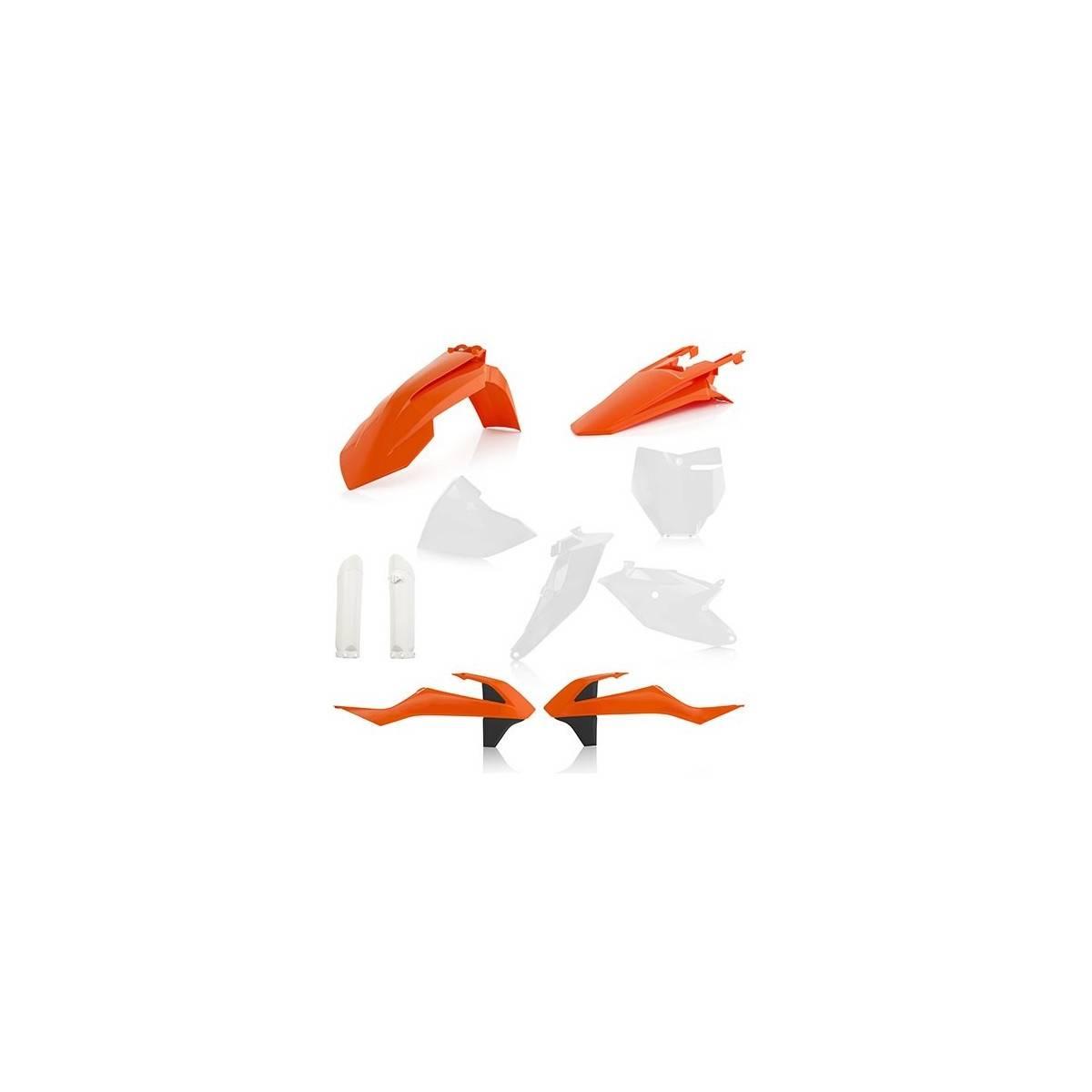 0022531-110 - Full Kit Plasticos Crf450 17 18 Rojo