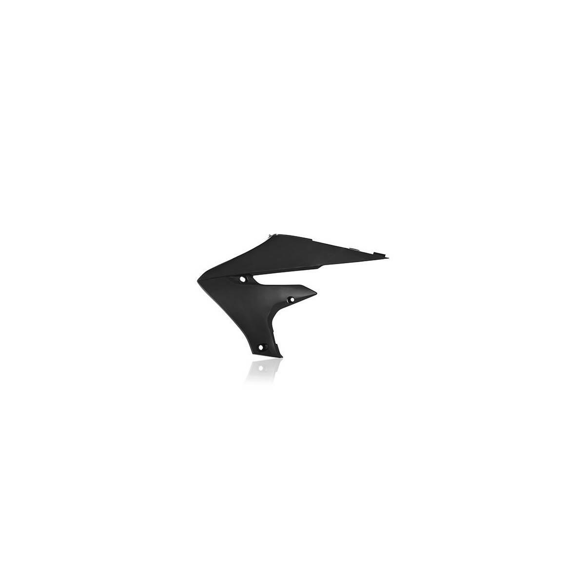 0022956-090 - Cubiertas Inferiores Radiador Yamaha Yzf450 14 17 Negro