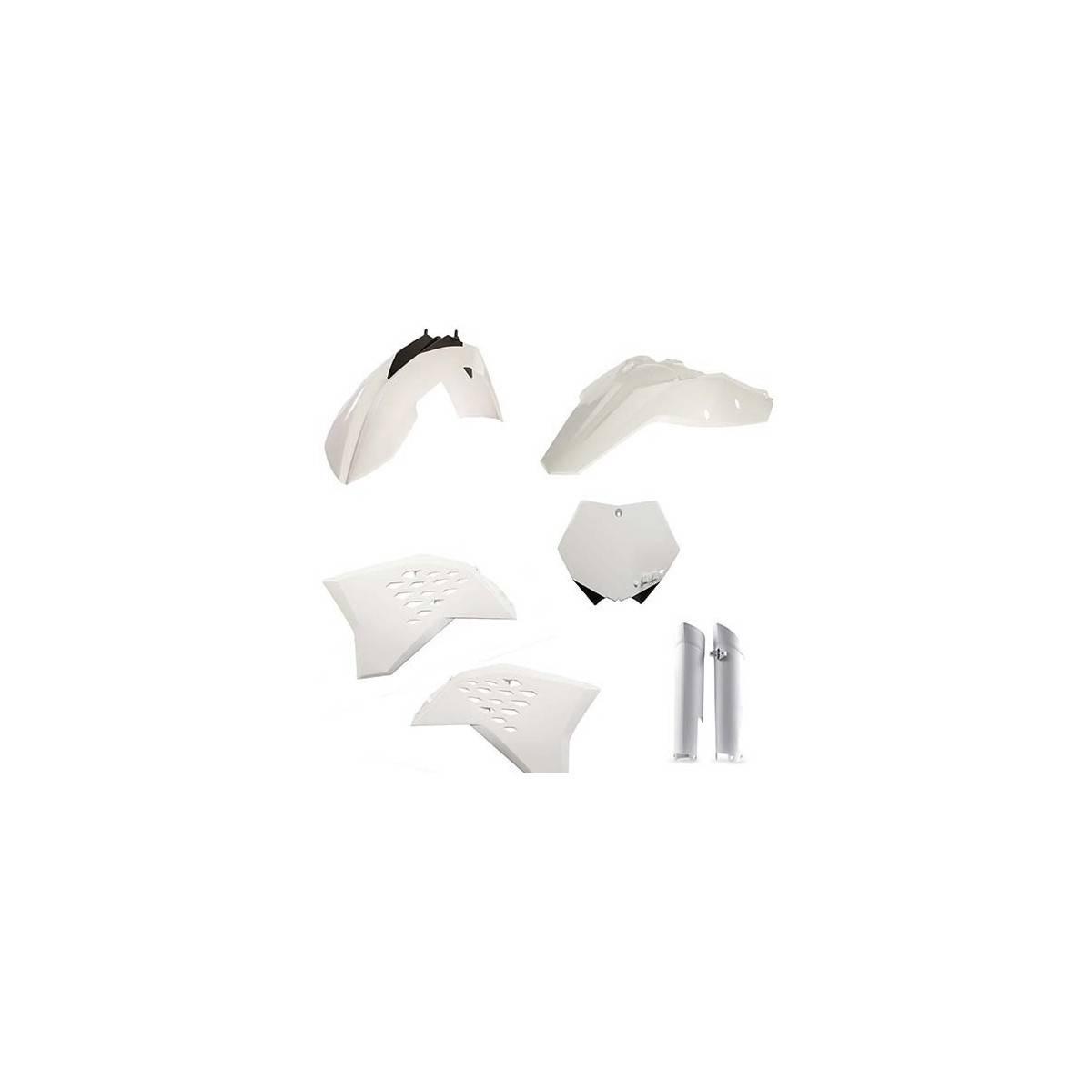 0022988-030 - Full Kit Plasticas Kxf 450 18 Eu Blanco