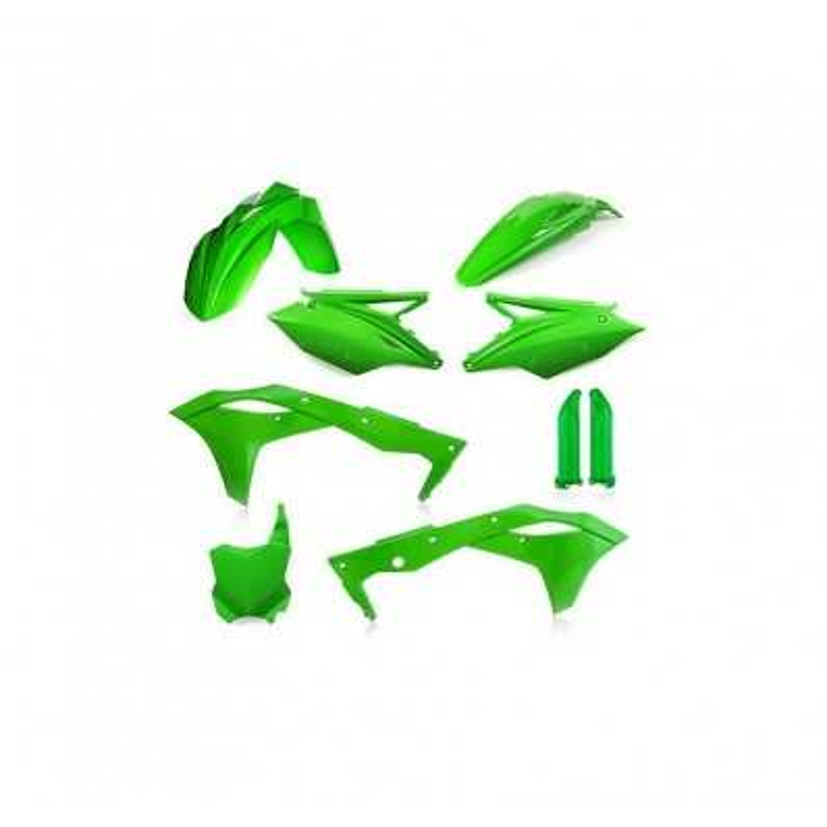 0022988-131 - Full Kit Plasticas Kxf 450 18 Eu Blanco Verde