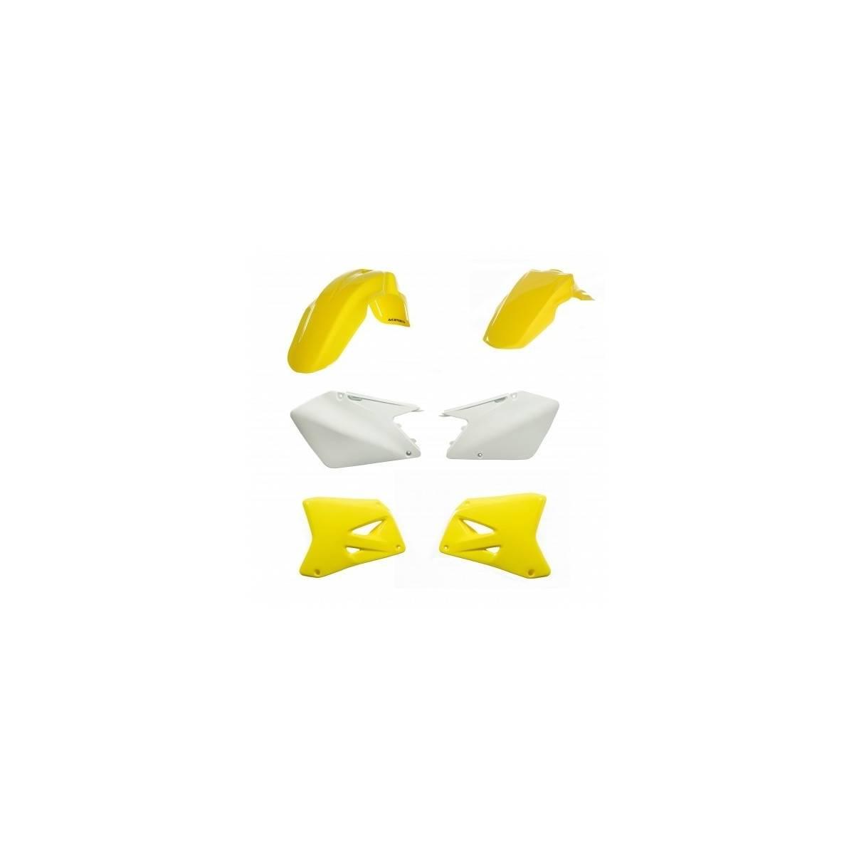 0023066-061 - Kit Plasticos Rmz 450 18 Amarillo Fluor