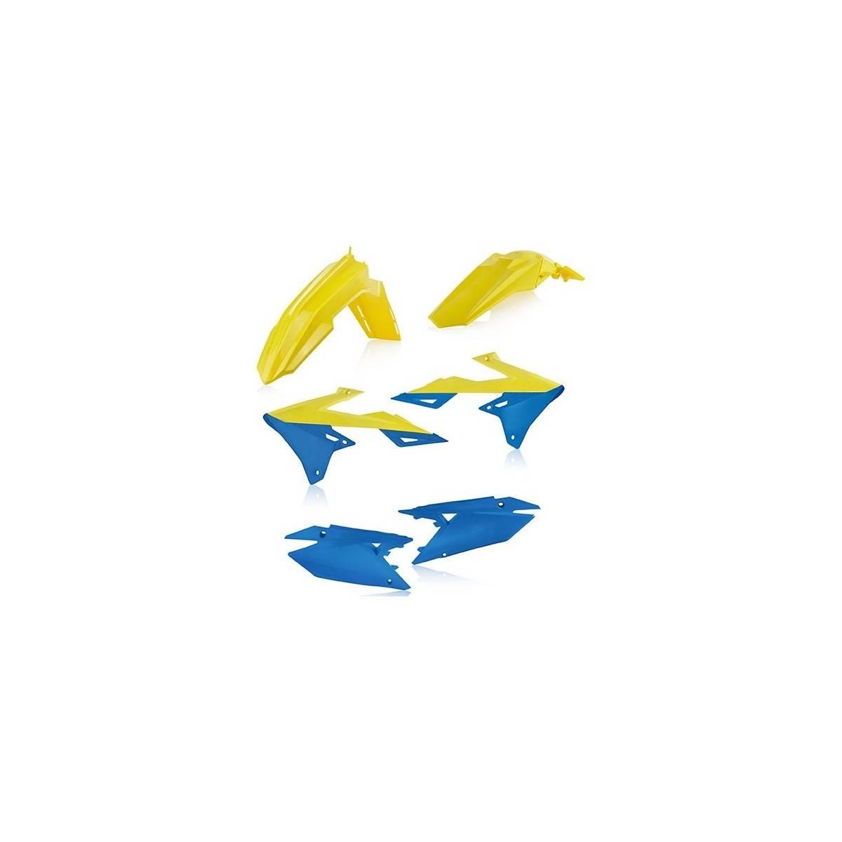 0023066-274 - Kit Plasticos Rmz 450 18 Azul Amarillo