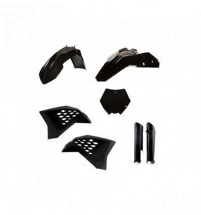 0023083-090 - Full Kit Plasticos Yz 125 18 Negro