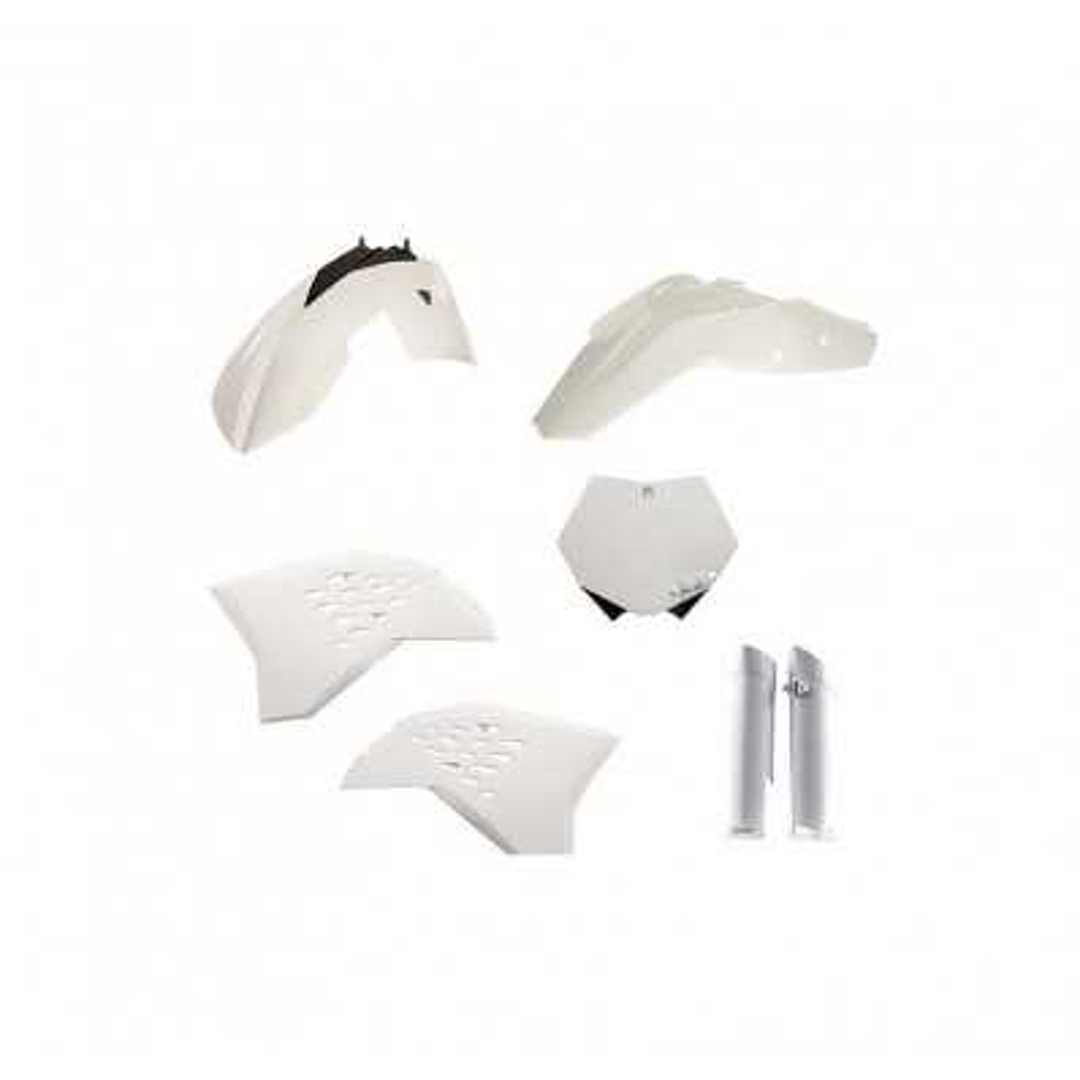 0023085-030 - Full Kit Plasticos Yz 250 18 Blanco