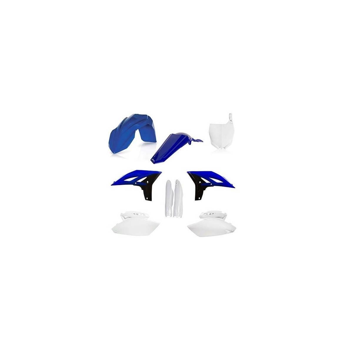 0023085-040 - Full Kit Plasticos Yz 250 18 Azul