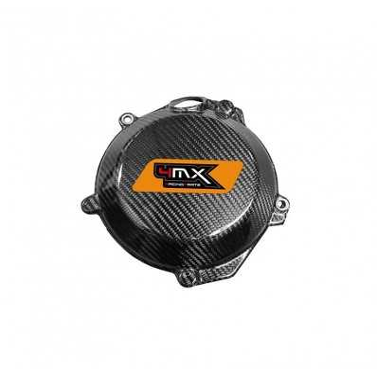 4MX16.02 - Protector Tapa Embrague Carbono Ktm Exc-F 250 350 Sxf 250 350 16 17 Husky Fe 250 350 17 Fc 250 17