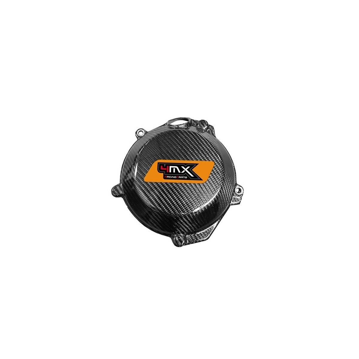 4MX21.02 - Protector Tapa Embrague Carbono Husqvarna Te250 300 14 16