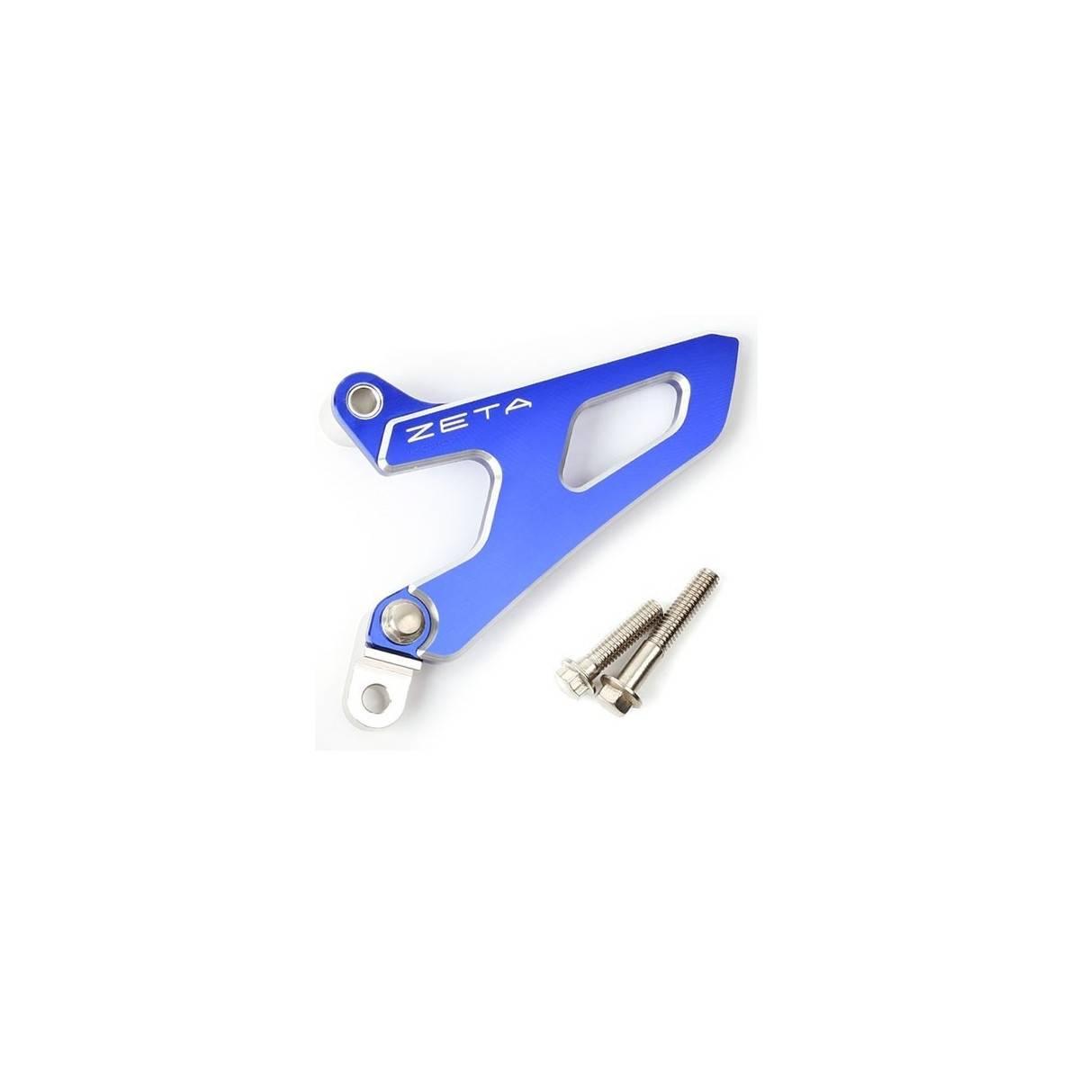 ZE80.9024 - Protector Piñon Salida Zeta Aluminio Yz Wr250F´01-, Rmz250´07-, Rmz450´05-Azul