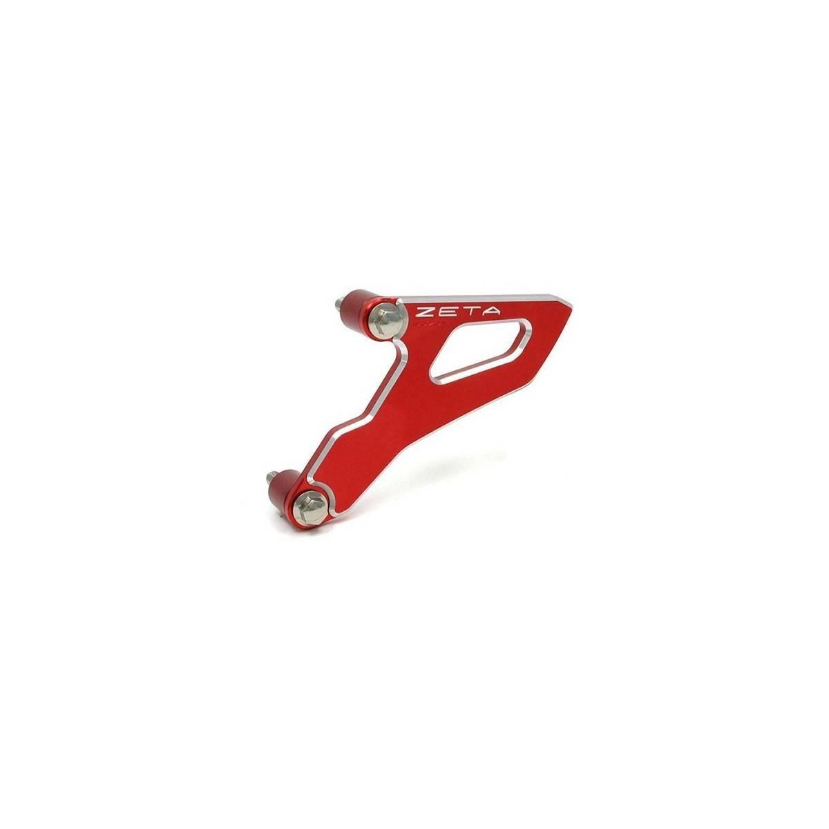ZE80.9025 - Protector Piñon Salida Zeta Aluminio Suzuki Rmz 250 450 05 17 Rojo