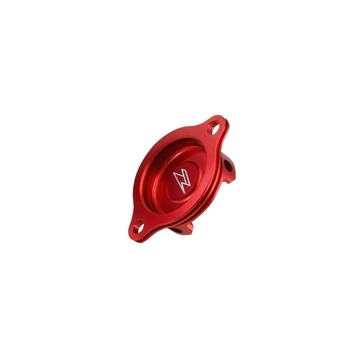 ZE90.1053 - Tapa Filtro Aceite Zeta Crf250R X´04-09 Rojo