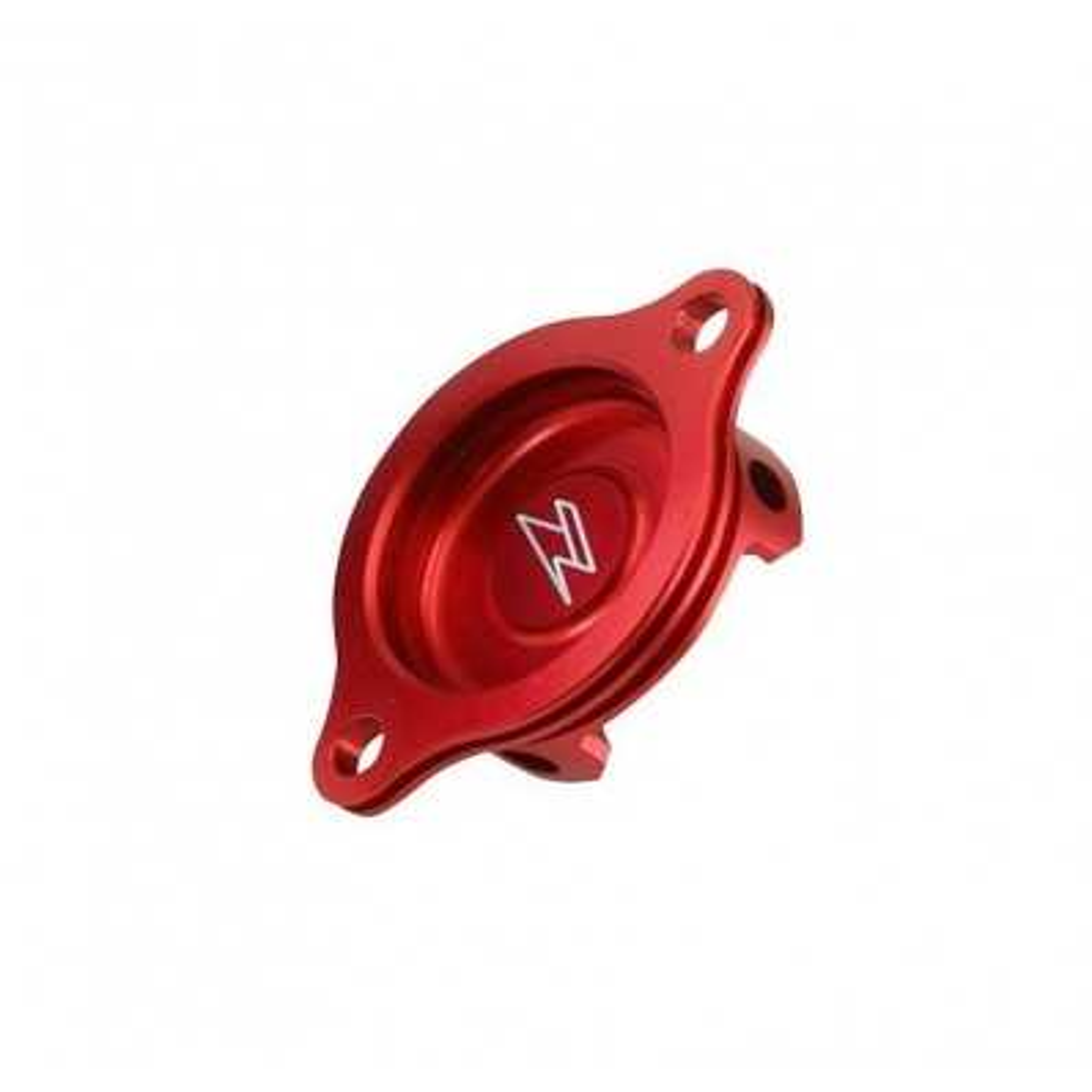 ZE90.1193 - Tapa Filtro Aceite Zeta Klx125´10-,D-Tracker125´10-, Klx150´09- Rojo