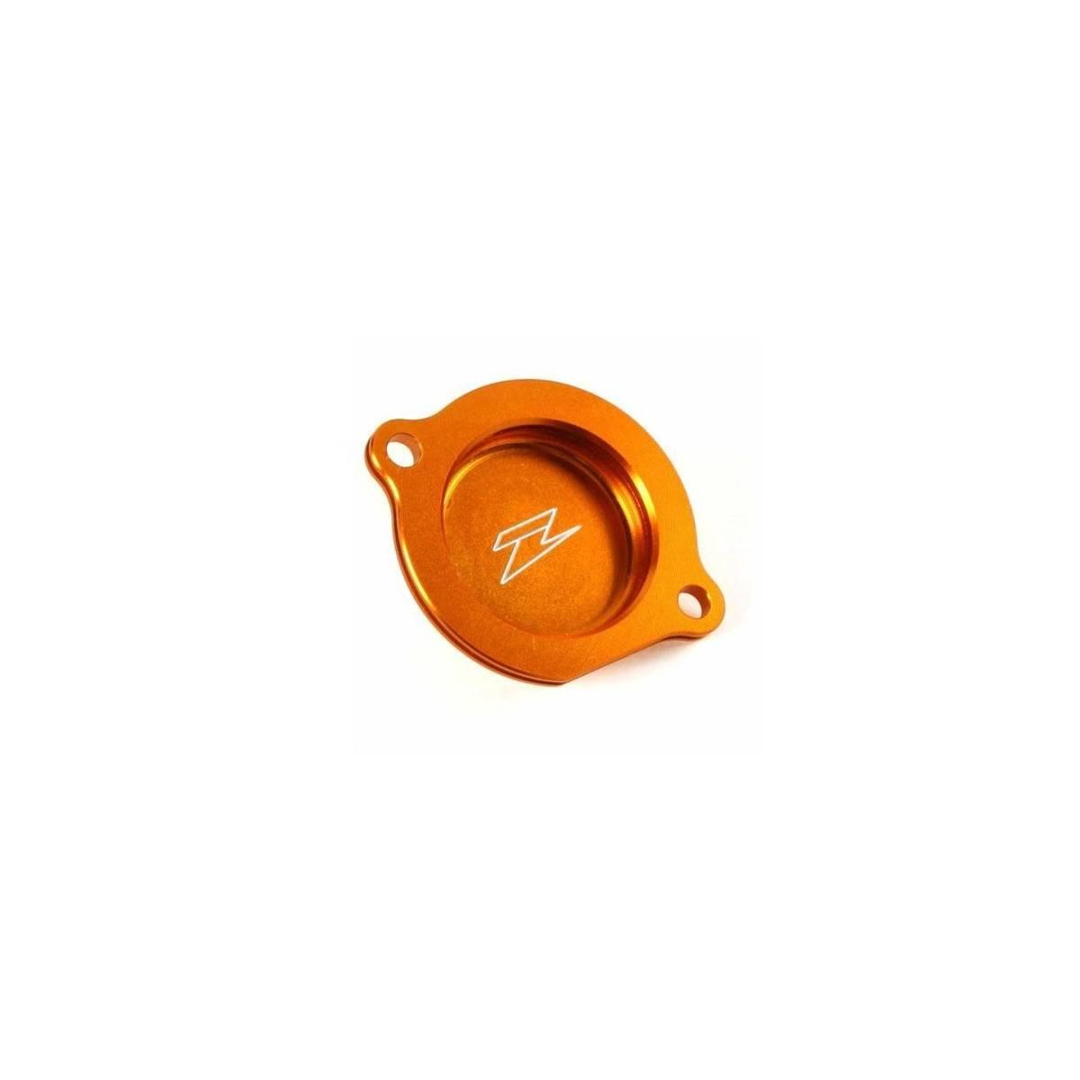 ZE90.1447 - Tapa Filtro Aceite Zeta Ktm 450 505Sx-F´07-, 450Smr´08 Naranja