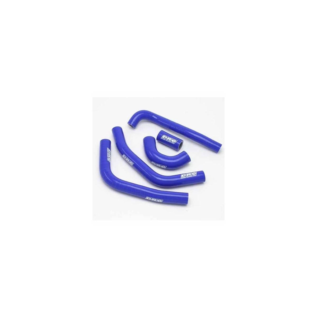 D47.01.312 - Kit Manguitos Radiador Kawa Klx250 D-Tracker ´98-07 Azul