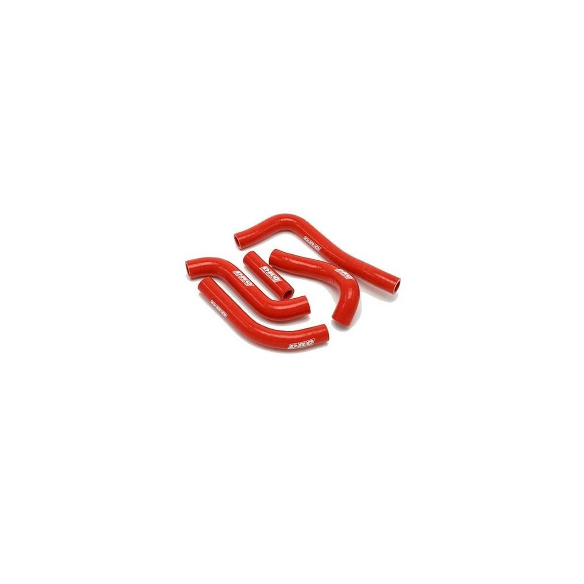 D47.01.163 - Kit Manguitos Radiador Honda Crf450X ´05 Rojo